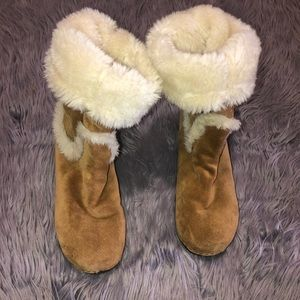 Lucky Brand Farrah Suede Boots Size 9